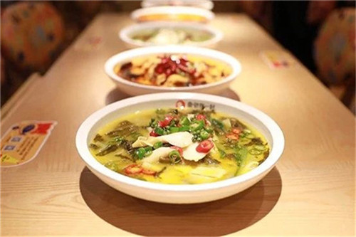 深圳快餐酸菜鱼连锁加盟店产品维护很重要